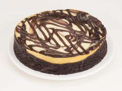 "Fudge Brownie Cheesecake 6"""