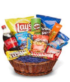 Junk Food Galore Basket