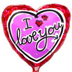 """I Love You"" Balloon"