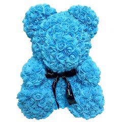 Luxury Blue Rose Teddy