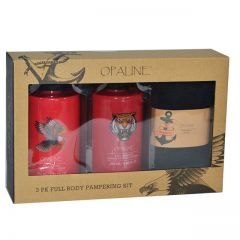 Opaline Men 3pk. Full Body Pampering Kit