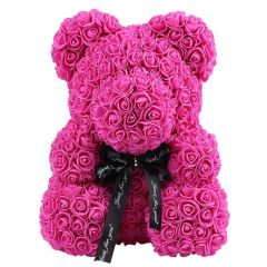 Luxury Pink Rose Teddy