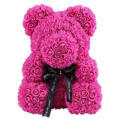 Luxury Pink Rose Teddy