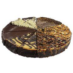 """Variety Chocolate Lovers Cheesecake 10"""""""